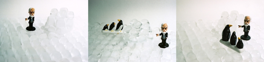 Dr. Freud's Vacation #5 (at the North Pole), 2008