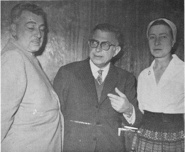 Simone de Beauvoir, Sartre e Jorge Amado